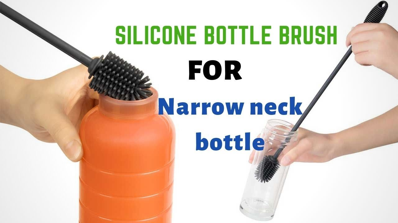 silicone bottle cleaning brush