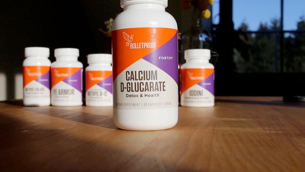 Bulletproof Calcium D Glucarate Youtube