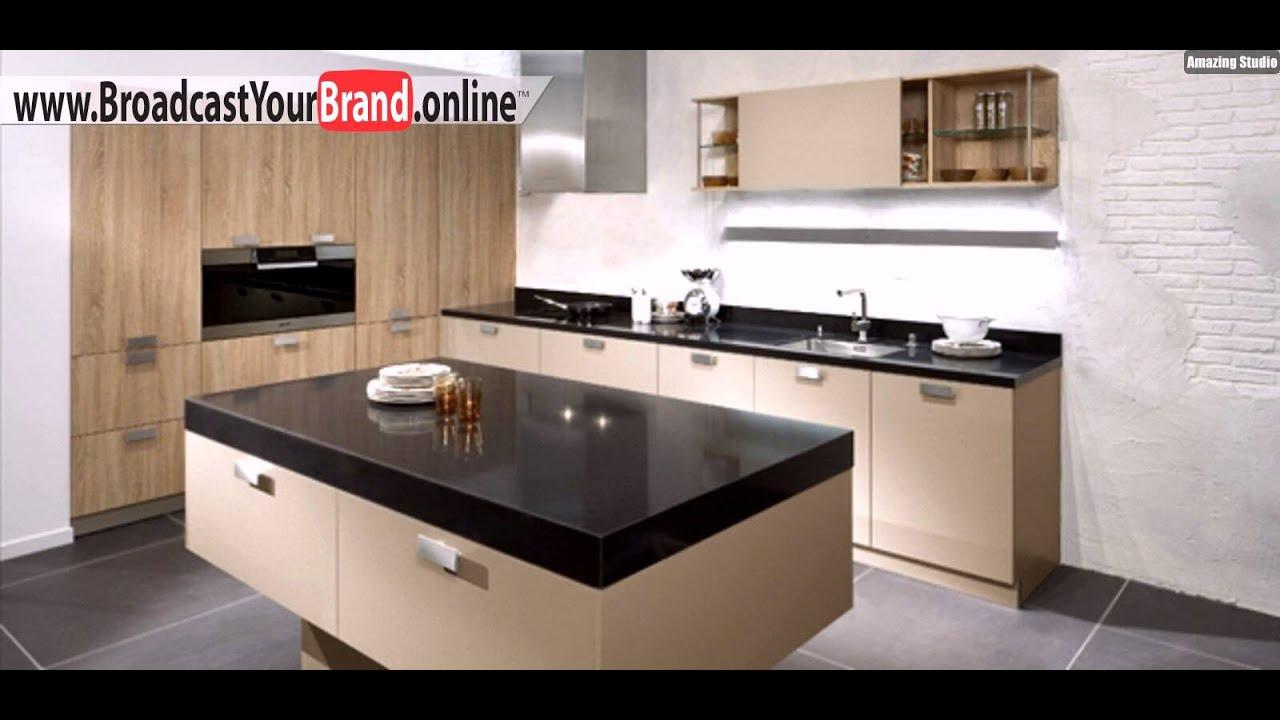 Küchentheke rustikale helle eiche küchentheke