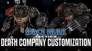 Space Hulk: Tactics - Death Company Customization + Game
