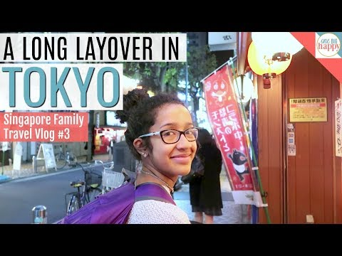 Tokyo Japan Travel Vlog - Family Vacation to Singapore Travel Vlog #3