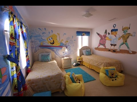 Spongebob Bedroom Spongebob Childrens Bedroom Youtube