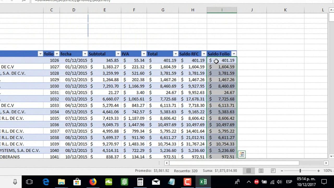 Cómo Crear Un Control De Cobro A Clientes En Excel Parte 1