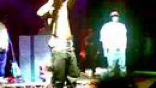 Lil' Wayne Gets Hit With A Bottle!!! (London, Stratford Rex)