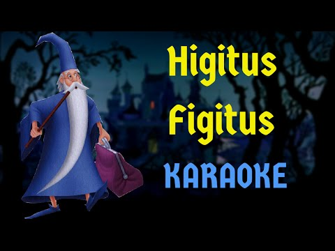 Higitus Figitus - The Sword In The Stone (Multilanguage Karaoke)