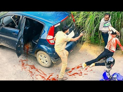 First Time Fake Police Prank   in Allahabad #Police #Prank #
