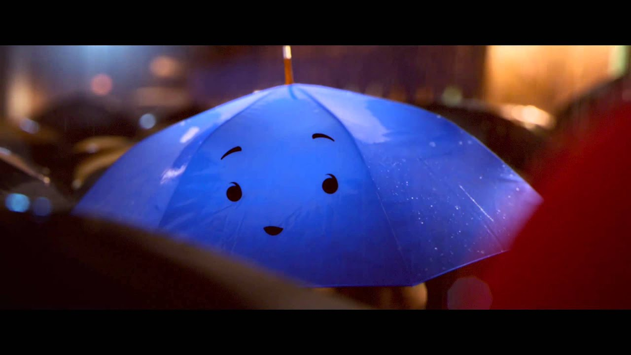 THE BLUE UMBRELLA a short film by pixar ( music ) - YouTube