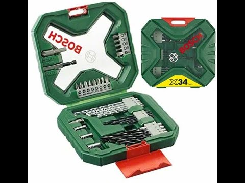 Voorkeur Bosch 2607010608 X-Line Classic Drill and Screwdriver Bit Set, 34 AT14