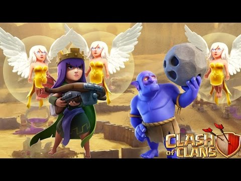 Walk Queen Bowler Strategy TH10 3 Star Clash Of Clan