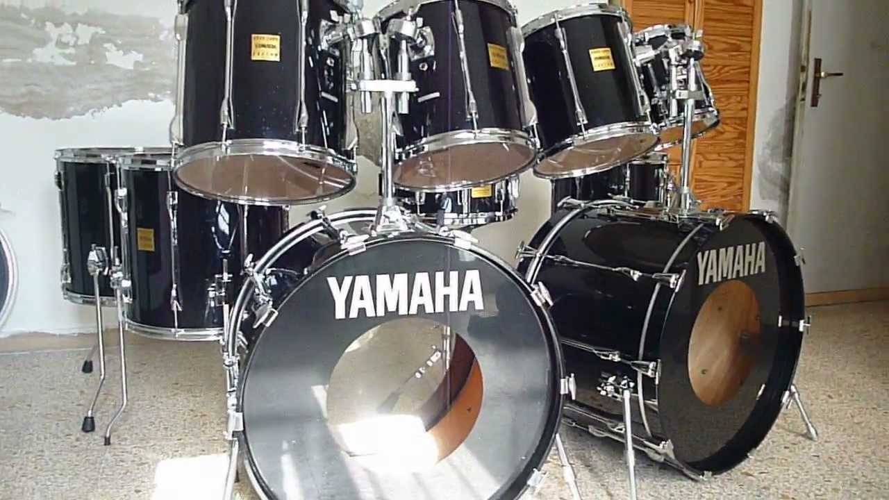 Sold Yamaha Rtc Rock Tour Custom Japan Full Set 1990 91