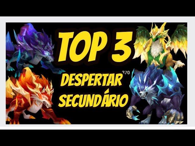 TOP 3 melhores personagens com SEGUNDO DESPERTAR!