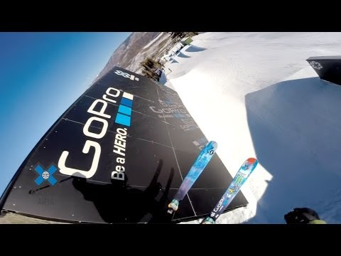 GoPro: Tom Wallisch's Ski Slopestyle Course Preview - 2014 Winter X Games Aspen