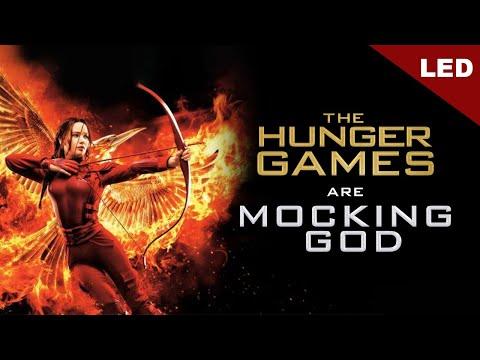 LED The Hunger Games are Mocking God