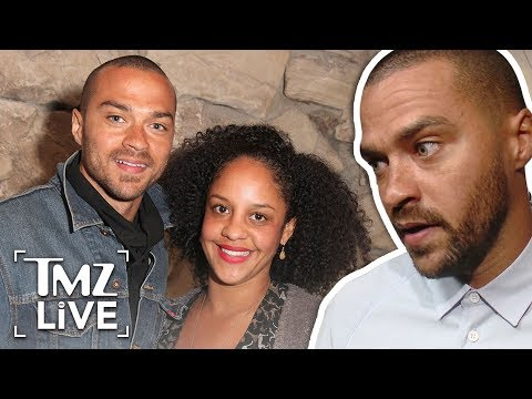 Jesse Williams  $100K A Month in Spousal and Child Support | TMZ Live