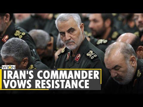 Iran's commander vows