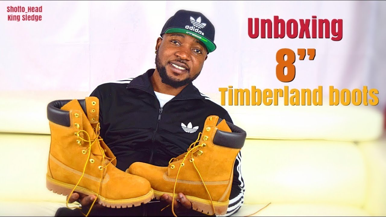 usa cheap sale new style the sale of shoes Unboxing 8 Inch Timberland Boots (Wheat Nubuck) !!! + ON FEET