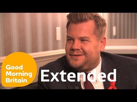 James Corden Extended: Hosting The Late Late Show & Creating Carpool Karaoke | Good Morning Britain