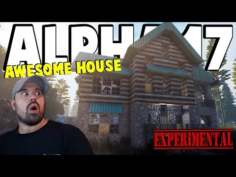 ALPHA 17 - Best House And Location | 7 Days To Die Alpha 17 | Part 5