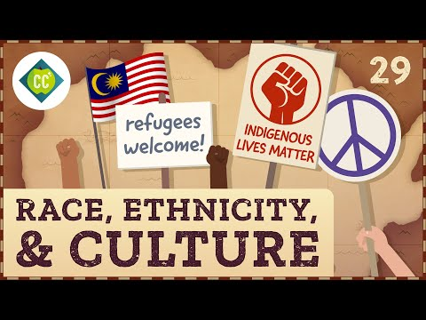Race, Ethnicity, and the Cultural Landscape: Crash Course Geography #29