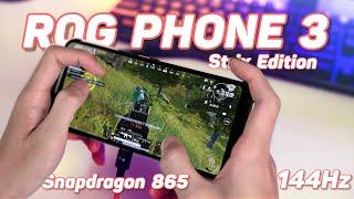 Chiến Game Maxsetting 90Fps PUBG Mobile & COD Trên ROG PHONE 3 Elite, Snap865 + 144Hz Qúa Mạnh!!