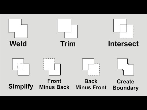 How to use Weld,Trim, Intersect, Simplify in Coreldraw
