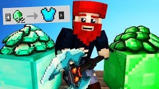 32 EMERALDS = PROSPECTOR RÜSTUNG   Minecraft EGGWARS