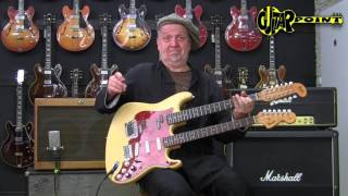 1983 Michael Stevens Doubleneck Fender Stratocaster & Electric XII / GuitarPoint Maintal