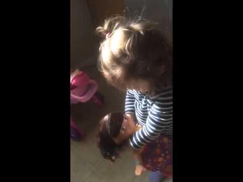 Tati learning how to multitask 😂