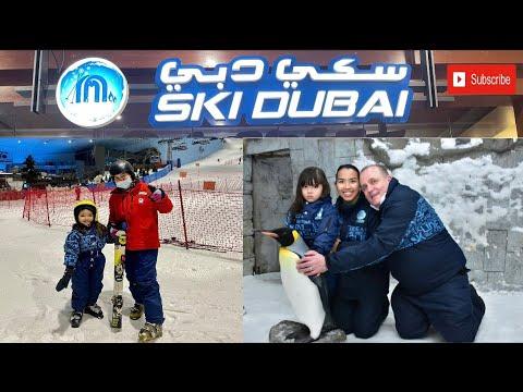 SKI DUBAI | Penguin Encounter | Ski Resort in The Desert