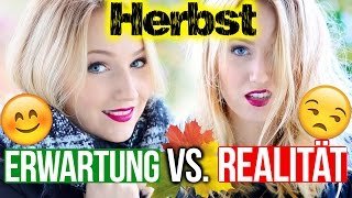 HERBST - ERWARTUNG VS. REALITÄT - TheBeauty2go