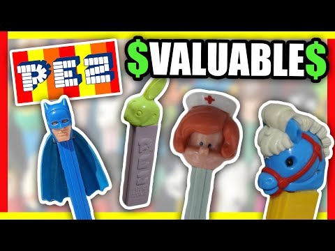 10 PEZ CANDY DISPENSERS WORTH MONEY - VINTAGE ITEMS TO LOOK FOR AT THRIFT STORES!!