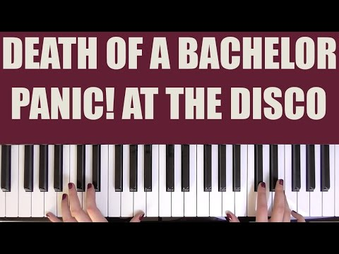 HOW TO PLAY: DEATH OF A BACHELOR - PANIC! AT THE DISCO