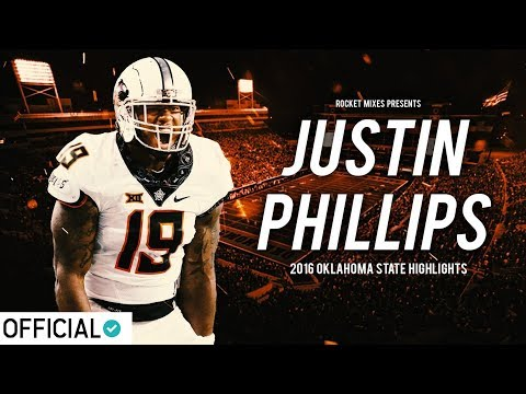 Oklahoma State LB Justin Phillips || Official 2016-17 Highlights