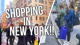 CHRISTMAS SHOPPING IN NYC!