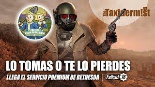 Un servicio de pago que va infinitamente más allá   Fallout 76