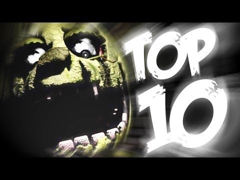 Top 10 Facts About Springtrap – Five Nights at Freddy's
