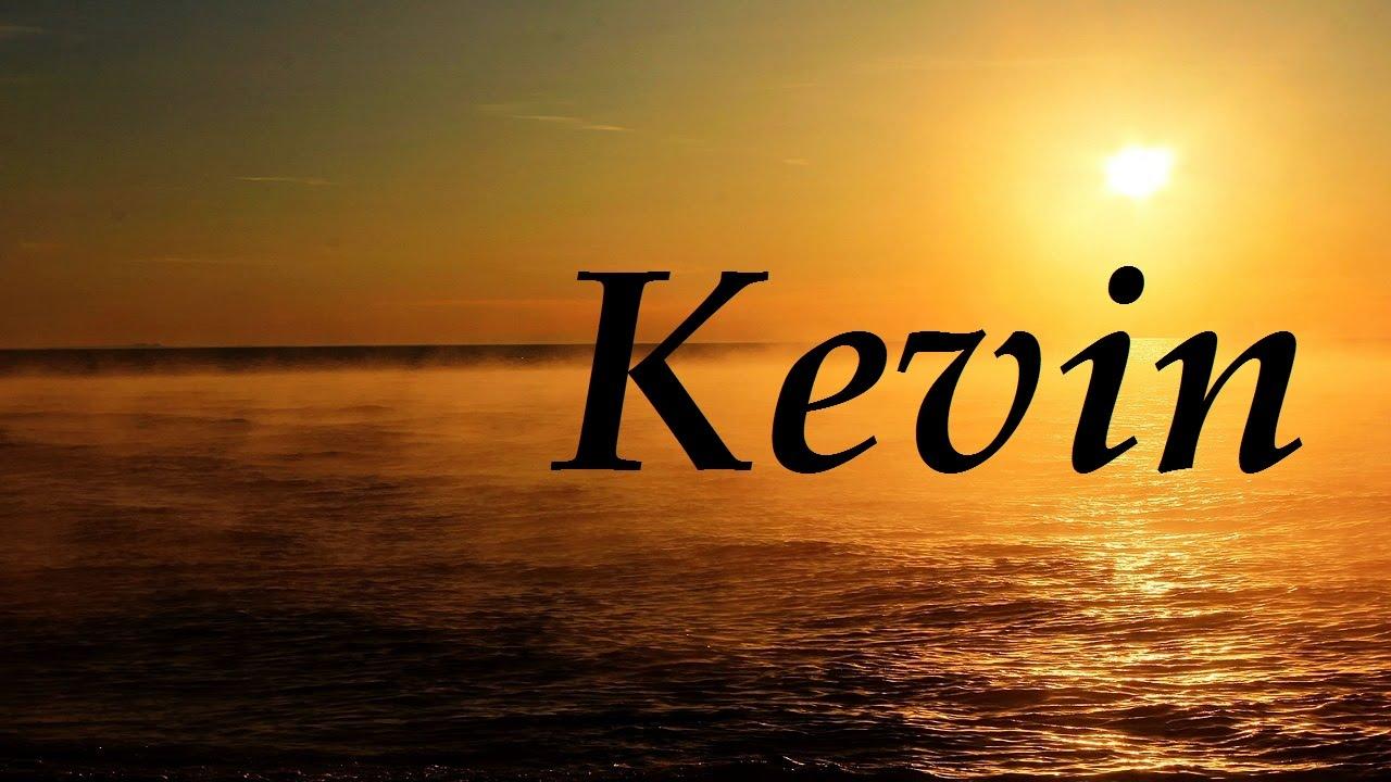 Kevin significado y origen del nombre - YouTube