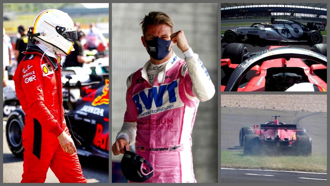 Дно карьеры Феттеля, 400 пит-стопов, Квят отомстил русофобам (Гран-При 70-летия UK 2020 Формула-1)