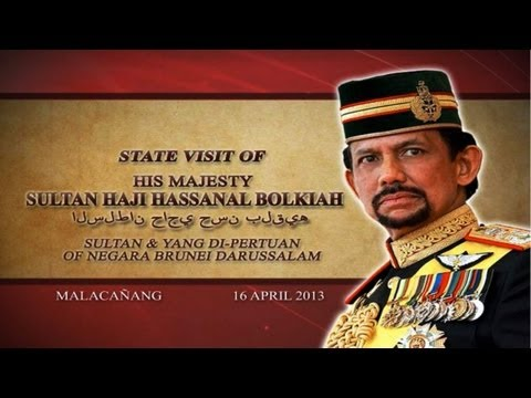 State Luncheon in honor of H.M. Sultan Haji Hassanal Bolkiah of Negara Brunei Darussalam
