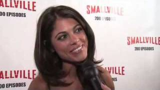 smallville   lindsay hartley   200th episode party