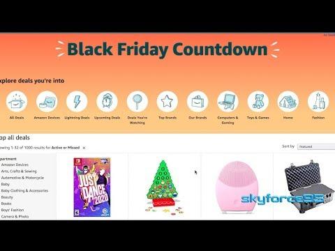 Best Black Friday Deals On Amazon 2019 + 20% Discount On EBay Store
