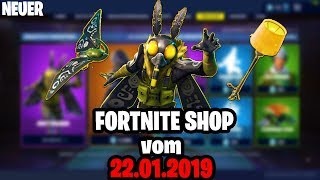 Neu! FORTNITE ITEM SHOP vom 22.01 💥DIE MOTTE💥 Daily Fortnite Shop von Heute 22 Januar 2019