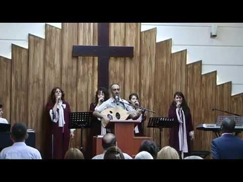 خدمة التسبيح والعبادة من كنيسة عينكاوا الرسولية  24/7/2016