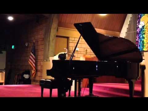ADK's first piano recital