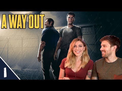 We Are Vincent & Leo! | A Way Out Pt. 1 | Marz Plays