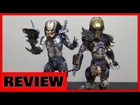 Neca Predator Ultimate Bad Blood vs Enforcer 2-Pack Review