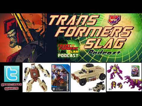 Transformers Power of the Primes Outback & Cindersaur REVEALED!
