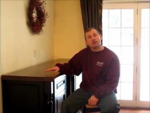 DeVos Custom Woodworking Solid Wood Countertop - YouTube