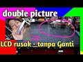 - Tv led sony gambar dobel bergetar - warna berubah ungu | sony led tv double image repair #46