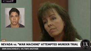 War Machine Trial Day 6 Part 1 (Mack's Mother Testifies) 03/13/17